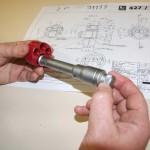 micrometre de contrôle